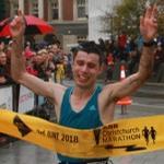 Christchurch's Favourite Brit' Repeats at Christchurch's Marathon